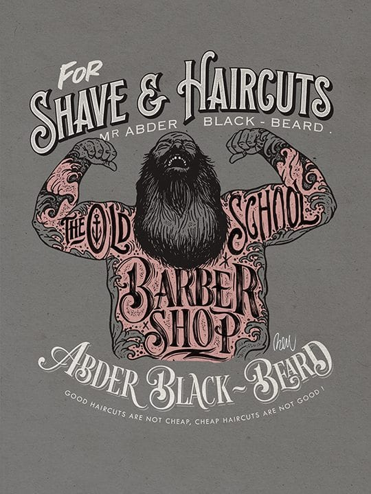 THE OLD SCHOOL BARBER SHOP